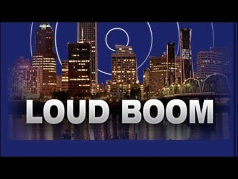 Mystery Loud Boom in San Diego CA