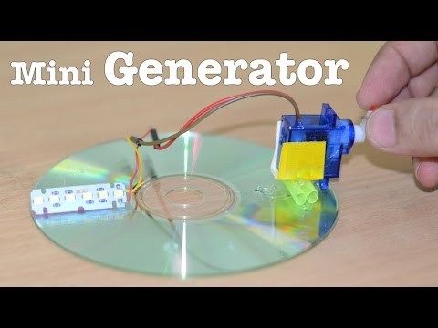 How to make a Mini GENERATOR at home - V Easy