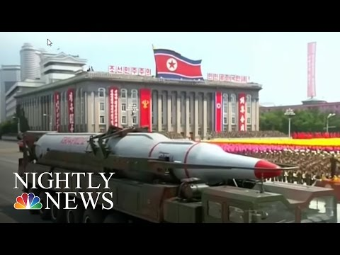 North Korea Continues Threatening Actions, Despite U.S. Warnings | NBC Nightly News
