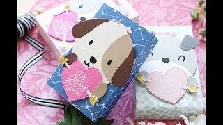 Mama Elephant-Valentine Favor Bags