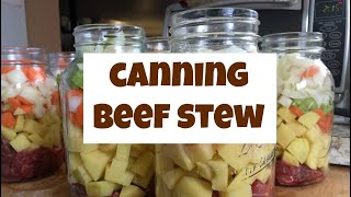 Canning Beef Stew