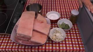 Jak przygotować solankę do peklowania na mokro Cz.1(Boczek i polędwica)