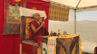 His Eminence Mingyur Rinpoche Gives Teachings On The Sutra Of The Four Bases Of Mindfulness