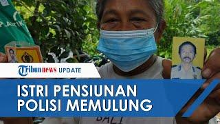 Janda Polisi di Sumedang Pilih Tinggal di Rumah Reyot dan Jadi Pemulung, Tak Ingin Bebani Anak