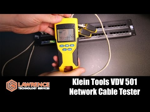 Klein Tools VDV501 Scout Pro Tool Network Cable Tester Review
