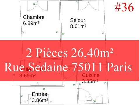 Appartement Location 2 Pieces Bastille,  Ack Feeling *36* Mp3