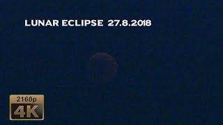 Lunar Eclipse over the Moselle Valley, 2018/07/27 - Germany 4K Travel Channel
