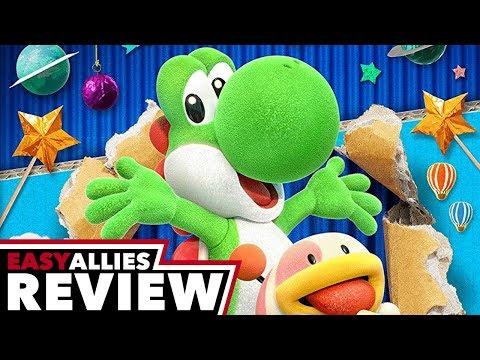 Yoshi's Crafted World - Easy Allies Review - YouTube video thumbnail