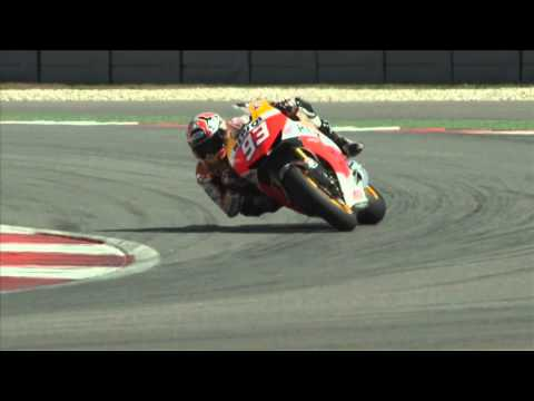 Honda Repsol GP World Champions 2014 - Marc Marquez with YUASA