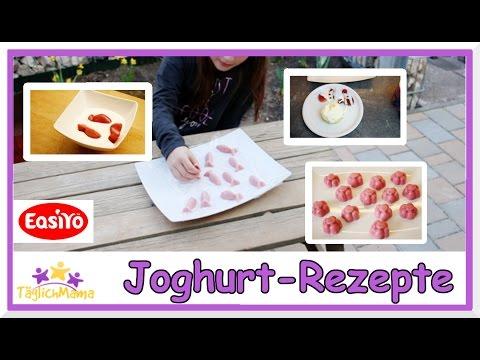 Leckere Joghurt Rezepte mit EasiYo  / Joghurt selber machen / Täglich Mama