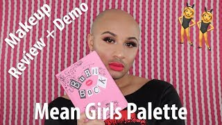 Storybook Cosmetics X Mean Girls Burn Book Palette Review + Demo