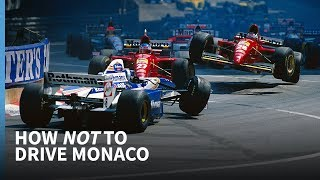 How NOT to drive an F1 car around Monaco