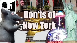 Visit New York - The Don'ts of New York City - Video Youtube