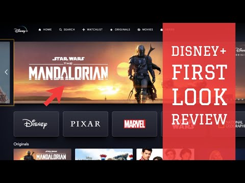 Disney Plus- First Look and Walk Through