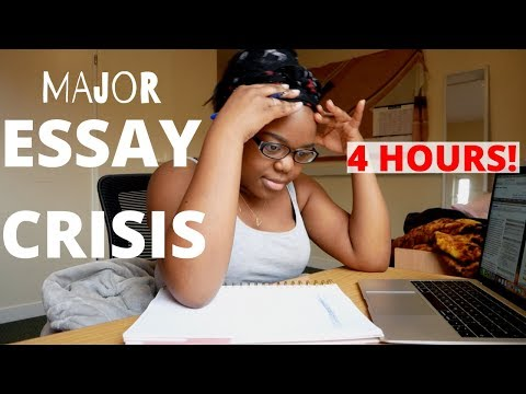 writing 2,500 words in 4 HOURS! - Oxford Uni stress