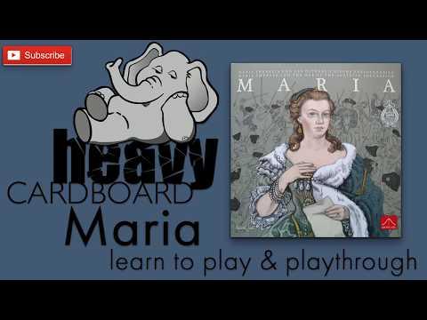 Heavy Cardboard Teaches Maria & Playthrough!