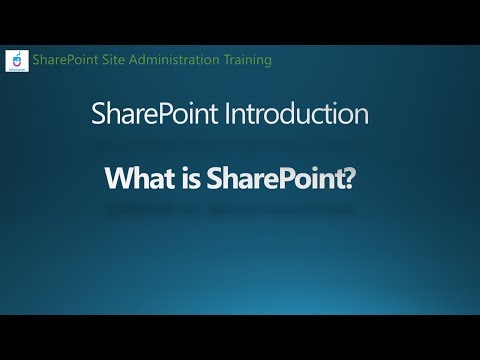SharePoint 2016 Tutorial : What is SharePoint - YouTube