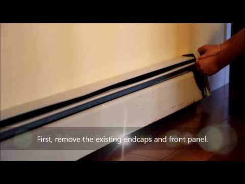 Baseboarders The Easy Slip On Baseboard Heater Covers