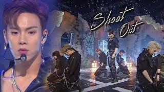 MONSTA_X(몬스타엑스) - Shoot Out @인기가요 Inkigayo 20181028