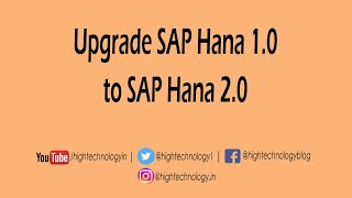 How to Update Sap Hana | Update Sap Hana | How to Upgrade Sap Hana