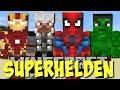 Superheroes Unlimited Mod!! (Spiderman, Thor, Iron Man) [Deutsch]