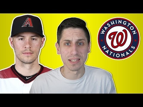 Patrick Corbin SIGNS with Washington Nationals Reaction