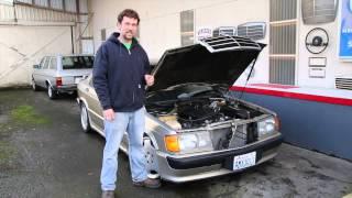 Mercedes W201 190E 2.3 16V Engine Compartment Update