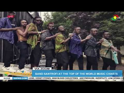 Santrofi Band tops the World Music Charts