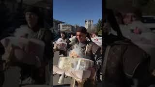 Пышный той в Казахстане