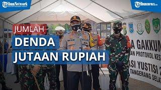Denda Operasi Yustisi Covid-19 di Tangsel Raup Jutaan Rupiah dari Para Pelanggar