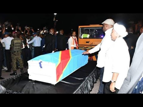 L'arrivée Du Corps D'Etienne Tshisekedi A Kinshasa. Emotions