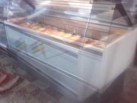 vitrinas para helados artesanales