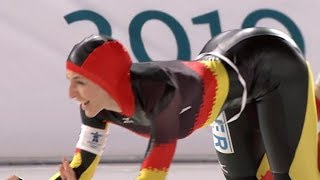 Anni Friesinger - Speed Skater with Dangerous Curves
