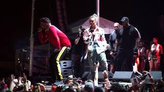 Lil Pump Performing Tribute To XXXTENTACION Live @ Lit Up Music Festival 2018 Miami (UHD)