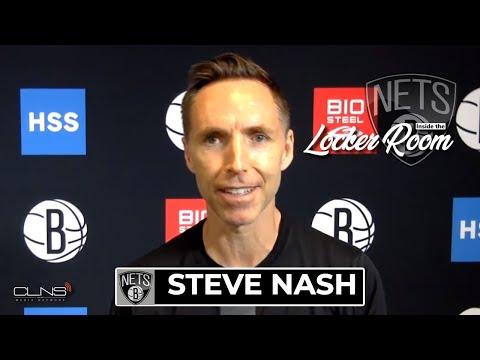 Steve Nash Practice Interview | Celtics vs Nets Game 1