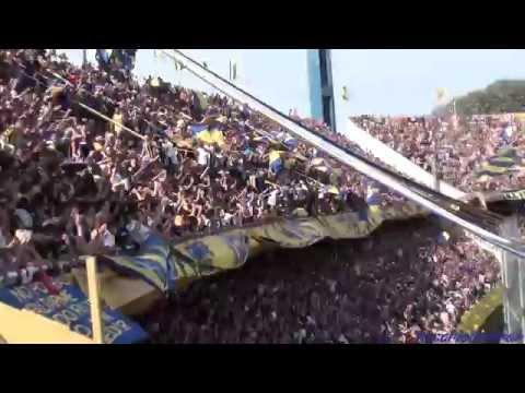 """""""""""Recibimiento"""" Rosario Central (Los Guerreros) vs Gimnasia - 2015"""" Barra: Los Guerreros • Club: Rosario Central"""