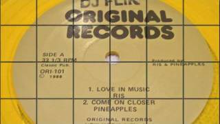 Ris - Love N Music (Original Records Version) 1988