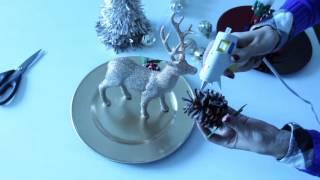 DIY Christmas Centerpieces | 3 Under $5