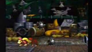 Donkey Kong Country 2 - King K Rool (Final Boss 1)