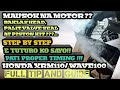 TOP OVERHAUL HONDA XRM110 & WAVE100 AND OTHER CHINA MOTOR'S | STEP BY STEP EASY TUTORIAL |