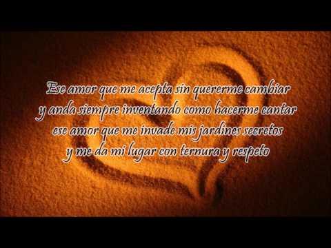 Ese amor es mi hombre - Myriam Hernandez (letra)