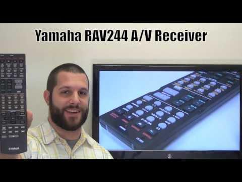 YAMAHA RAV244 Audio/Video Receiver Remote Control