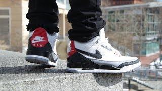 7ba699362f8322 Jordan 9 Charcoal On Feet