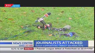 Messages of condemnations stream in over the attack on journalist at NASA event at Wiper HQ