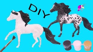 DIY Leopard Appaloosa ! Breyer Horse Custom Painting Video