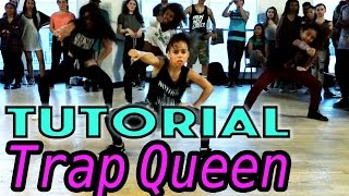 TRAP QUEEN - Fetty Wap Dance TUTORIAL | @MattSteffanina Choreography (Beginner Hip Hop)