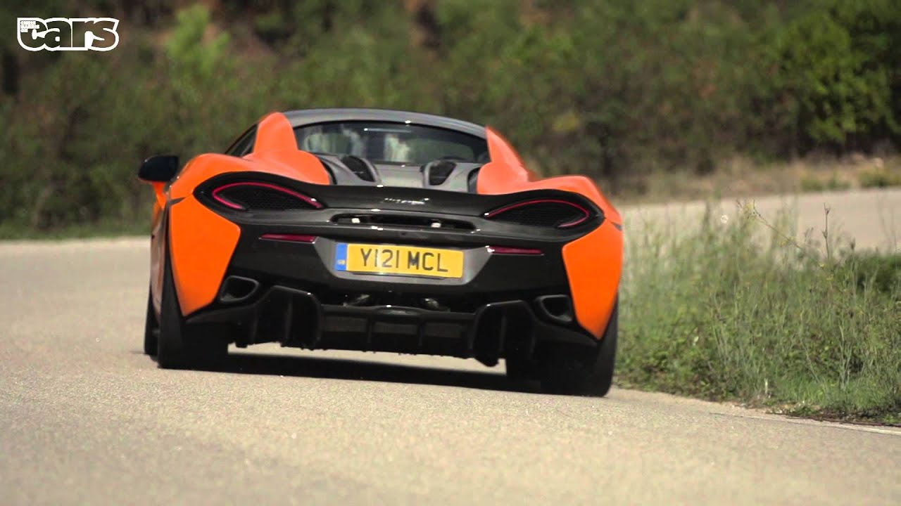 The McLaren 570S Is A Baby Supercar You Can Use Every Day Of The Week