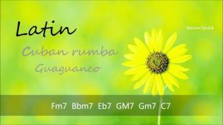 CUBAN RUMBA  /  GUAGUANCO, BACKING TRACK IN F, FOR TRUMPET, PIANO, GUITAR, FLUTE, PERCUSSION