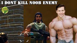 Muselk Don't Kill Noob Enemy In Fortnite Battle Royale