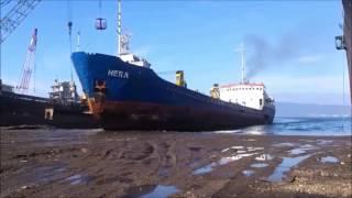 Крупные аварии судов